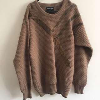 100% Wool knit jumper