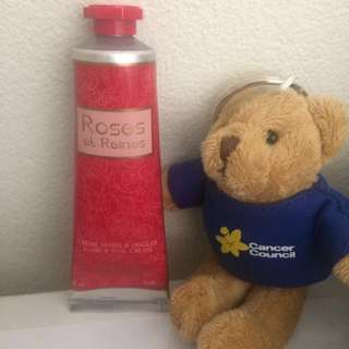 LOCCITANE rose hand and nail cream