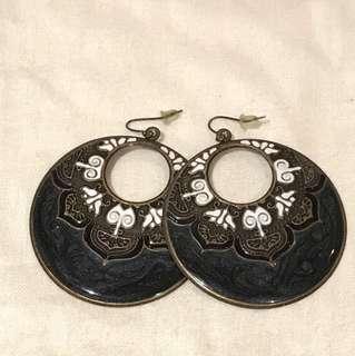 Hoop earrings:)