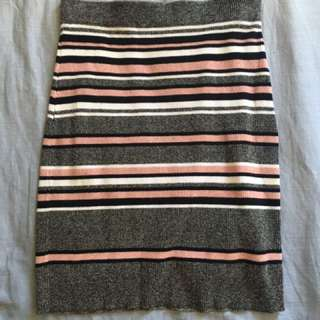 Knitted Sportsgirl Skirt