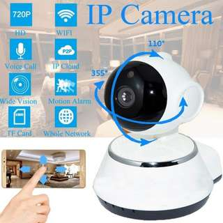 HD 1280 WiFi Smart Net Night Vision Camera CCTV IP Camera Remote Viewing For Home Surveillance- <ready stock>