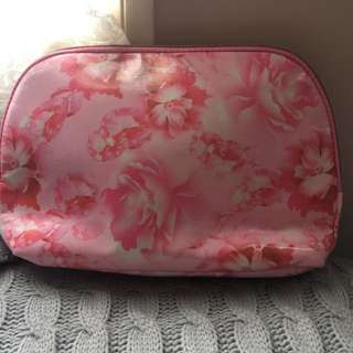 Floral Storage/Toiletries Bag