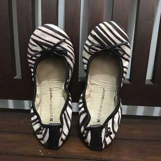 REPRICE Flat Shoes Butterfly Twists