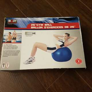 "BNIB 26"" gym ball"