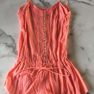 Apricot Playsuit