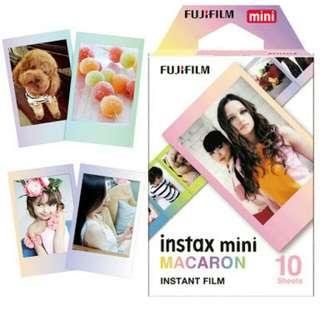 Fujifilm Refill Instax Mini Macaron Polaroid (10 lembar)