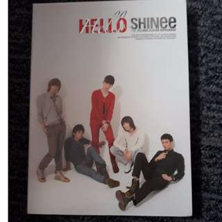 SHINee Hello Album (comes with DVD)