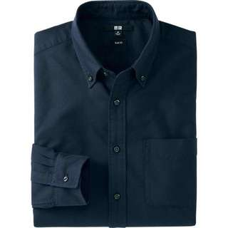 UNIQLO SEMI FIT BUTTON DOWN LONG SLEEVES