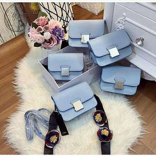 Zara crossbody original blue