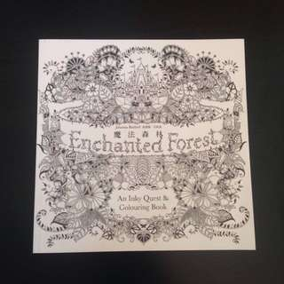 Enchanted Forest By Johanna Basford (small)