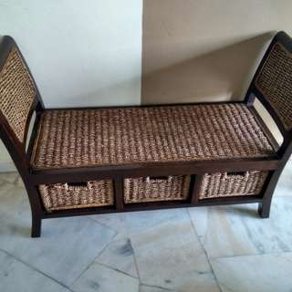 Solid Teak/Jati Chair