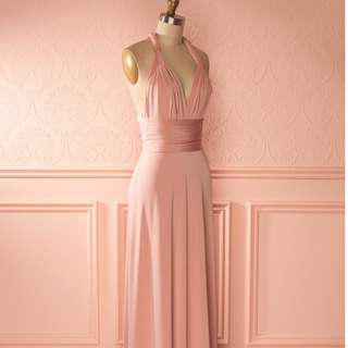 **BNWT BOUTIQUE 1861 Rose Convertible Dress (Medium) PERFECT FOR PROM!