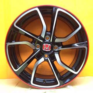 16 inch NEW SPORT RIM DESIGN HONDA-CITY