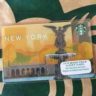 Starbuck Card-New York
