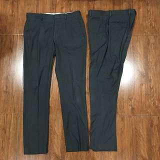 H&M Gray Slacks (US/34)