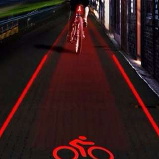 Bicycle Tail Light Scooter Mountain BIke Road