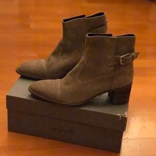 Minelli suede leather boots