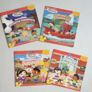 Disney's Little Einsteins Lift-the-Flap fun! story books