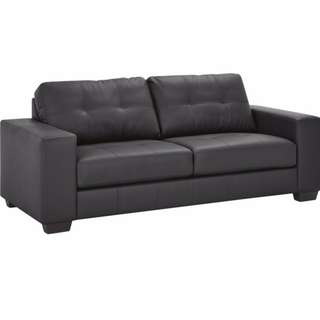 3 SEATER PU LEATHER SOFA