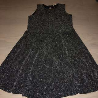 Sparkling grey dress small