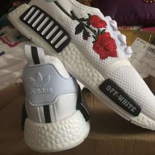 Off white rose adidas NMD!!!!