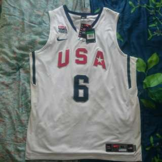 Nike Lebron James Olympics authentic jersey new with tag