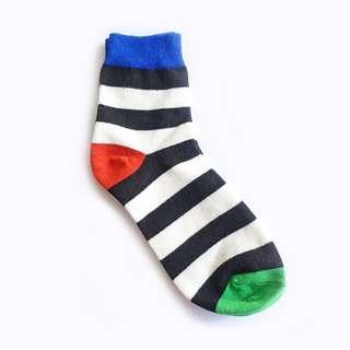 Stripe Colours Block Socks