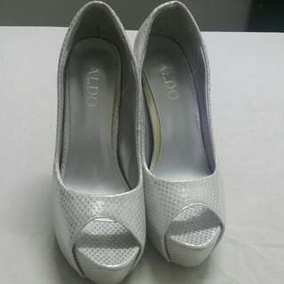 Sliver High heels shoe for aldo