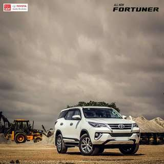 Experience the fortune at the Toyota Fortuner lowest DP Promo Hurry up gGrab your's now