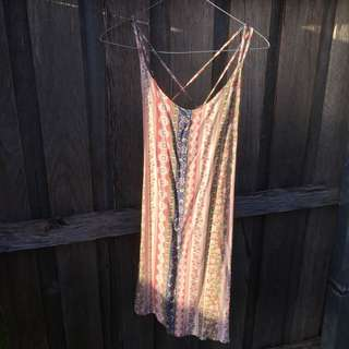 Patterned Dress from Beginning Boutique