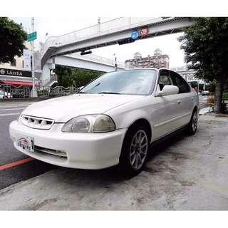 Honda Civic K8 4D 1.6 省油省稅金 優質代步車