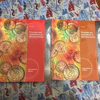 🚚 經濟(兩本合售) principles and applications of microeconomics +macroeconomic