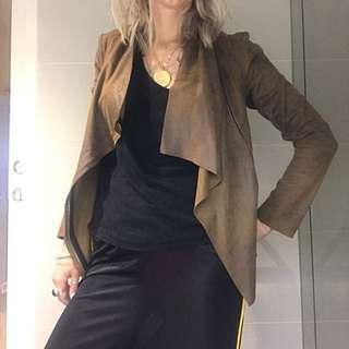 Zara drape jacket