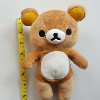 Genuine Rilakkuma plush toy
