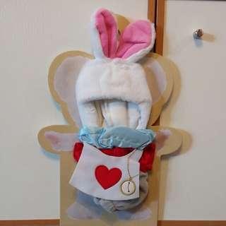 Unibearsity 大學熊 Duffy Shelliemay Alice in wonderland 愛麗絲 white rabbit 時間兔 ss 限量版套裝