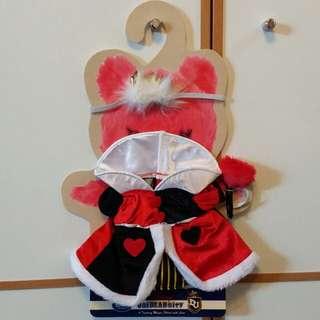 Unibearsity 大學熊 Duffy Shelliemay Alice in Wonderland 愛麗絲 Queen of Heart 紅心皇后 ss 限量版 套裝