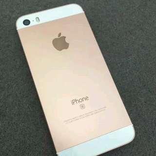 iPhone SE 金 64G 9成5新