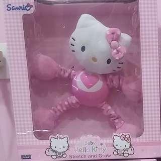 🚚 正版三麗鷗 Hello kitty系列 嬰幼兒益智成長玩具  彈力寶寶