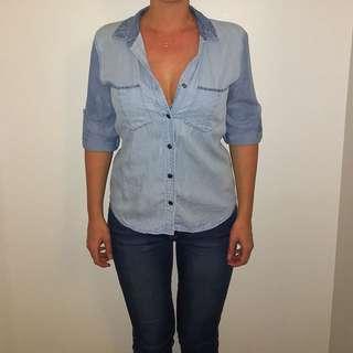 PIPER Denim Shirt size 6