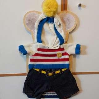 Unibearsity 大學熊 Duffy Shelliemay Donald 唐老鴨 s 冬季衫褲套裝