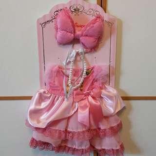 Unibearsity 大學熊 duffy shelliemay s 粉紅色公主裙套裝