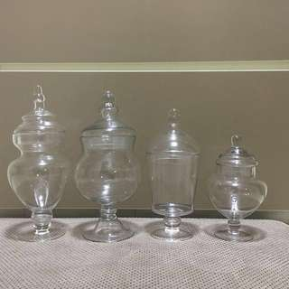 Candy Jars / Apothecary party jars for Rent
