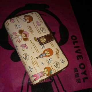 Olive Oyl Wallet