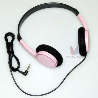 Authentic SONY MDR-222 Headphones Pink for Mp3 players Smartphone iPhone etc