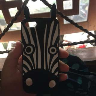 Zebra case for iPhone 5/5s