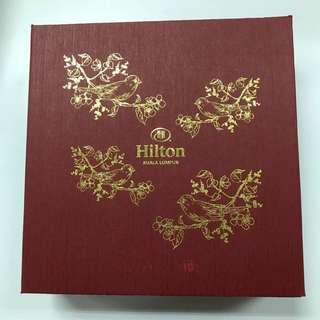 Hilton Moon Cake box