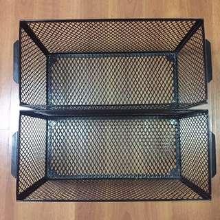 Magazine/Newspaper Baskets (2 pcs)