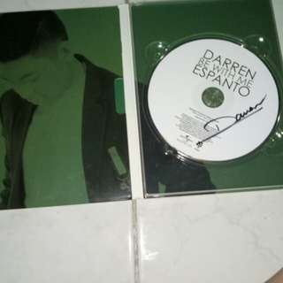 Darren Espanto Be with me signed cd