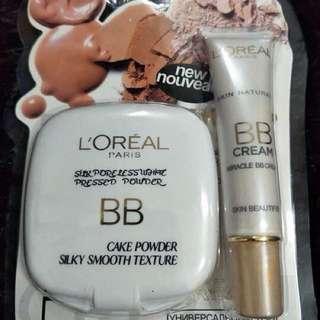 LOREAL bb cream & bb powder