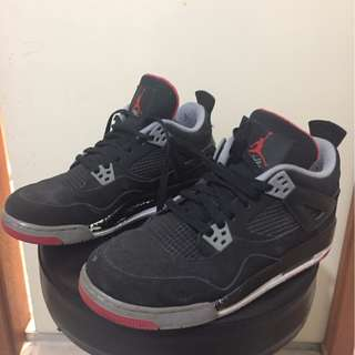 For Sale! Air Jordan 4 Bred GS US7Y Ad type: Free